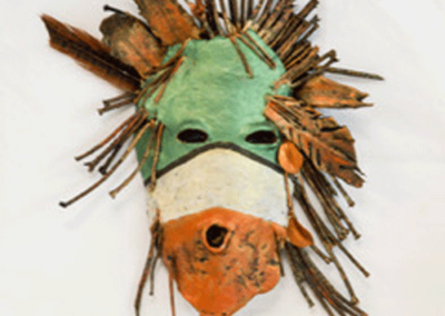 18th Century Hopi Mask""