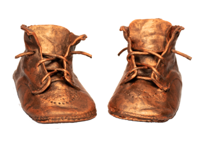 Bronze Baby Shoes